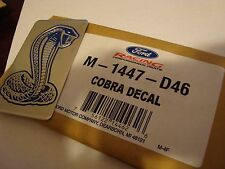 FORD COBRA INTAKE PLAQUE, 96-98 MUSTANG COBRA, M-1447-D46