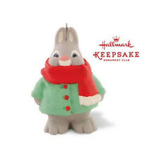 Bundled-Up Bunny - 2015 HallmarkOrnament - Member Exclusive - Critters - Rabbits