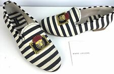 Marc Jacobs NWB New $595 Blue & White Stripe Canvas Shoe EUR 41 US 11