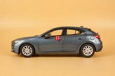 1:18 Mazda 3 AXELA 2014 Hatchback Die Cast Model blue color + gift