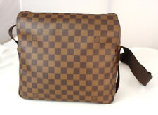 Authentic LOUIS VUITTON Damier Ebene Naviglio Cross-body Shoulder bag - France