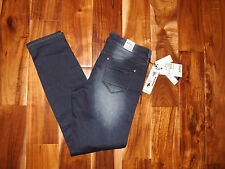 NWT Womens BUFFALO DAVID BITTON Slim Boyfriend Mid-rise Dark Wash Jeans Sz 14