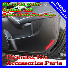Premium Carbon Protect Inside Door Guard Cover For 12 13 14 2015+ Kia Optima K5