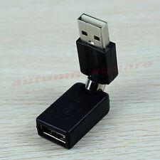 USB 2.0 mâle à femelle USB rotation de 360 degrés Angle Adapter Extension