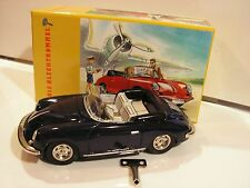 PORSCHE 356B  CARRERA II 2-TOLE TIN TOY 1/25 (b)