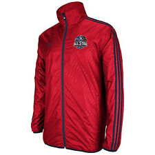 Adidas 2014 NBA All-Star WEST Lightweight Finished Jacket Wind Breaker MENS L LG