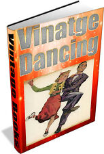 50 VINTAGE BOOKS ON DANCING - DVD - BALLROOM DANCE HISTORY WALTZ FOXTROT MUSIC