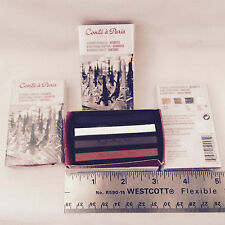 CONTE A PARIS SKETCHING CRAYONS SET OF 4 COLORS LOT OF 6 BOXES