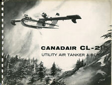 CANADAIR CL-215 MANUFACTURERS SALES BROCHURE UTILITY AIR TANKER FLYING BOAT