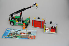 LEGO City 7992 Container Stacker 100% Compete With Instructions