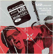 U2-Elevation rare German 12x12cm minidisplay