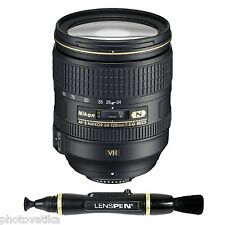 Nikon AF-S Nikkor 24-120mm f/4 G ED VR Zoom Lens for Nikon Digital SLR Camera +