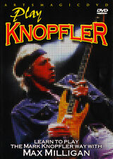 ArtsMagic PLAY GUITAR THE MARK KNOPFLER WAY Video Lessons DVD with Max Milligan