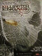 Killswitch Engage, As Daylight Dies, Full Page Promotional Ad
