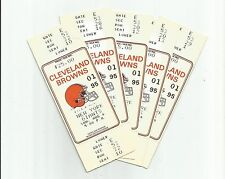 New York Giants @ Cleveland Browns 1995 ticket stub Tyrone Wheatley 1st NFL game