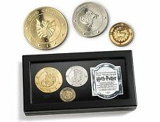 Harry Potter Gringotts Bank Coin Collection Hogwarts Knut Sickle Galleon Noble