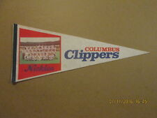 Columbus Clippers Vintage Team Photo Nickles Pennant