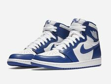 NEW NIKE AIR JORDAN 1 RETRO OG WINTER STORM BLUE MENS SIZE 11 (555088-127) Shoes