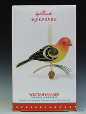 NEW 2015 Beauty of Birds #11 Western Tanager HALLMARK KEEPSAKE ORNAMENT 2016