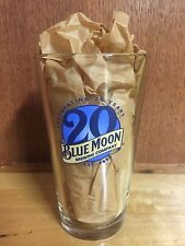 Blue Moon 16oz Glass - Limited Edition - 20th Anniversary