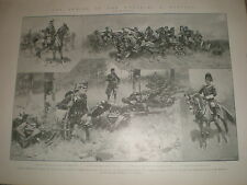 Armies of the World Austria by H W Koekkoek 1903 print ref X