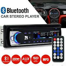 Bluetooth Auto Radio Stereo Lettore Testa Unità MP3/USB/SD/AUX-IN/FM IN-DASH iPod