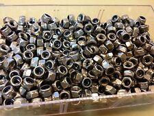 Lot de 10 Ecrous freins 6 pans acier INOX M6 neufs !!