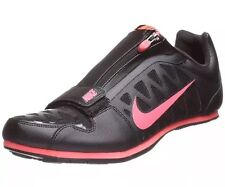 NEW Nike Zoom LJ 4 Long Jump Shoes Spikes Black Neon Red 415339-060 SIZE 14