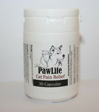 PawLife Cat Pain Relief - All Natural Cat Pain 30 Capsules (Cat Pain Pills)