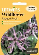 Unwins Pictorial Packet - Wildflower Ragged Robin - 600 Seeds
