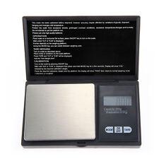 200g/0.01g Balanza Báscula Electrónico Alta Precisión Cocina Negro