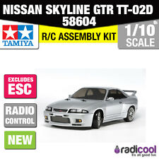 NEW! 58604 TAMIYA NISSAN SKYLINE GTR R33 TT-02D R/C KIT 1/10th RADIO CONTROL CAR