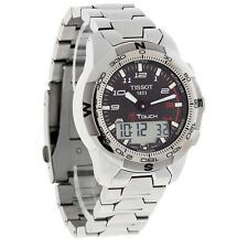 Tissot T-Touch II Mens Carbon Fiber Dial Titanium Watch T047.420.44.207.00