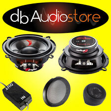 Dragster DSB 5 Kit 2 Vie Per Auto 130mm 40Watt RMS Tweeter+MidBass+Filtro