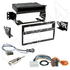 Nissan Tiida Versa 2-DIN Kfz Radio Blende+Fach ISO Adapter US-Version Einbauset