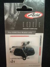 Avid / SRAM Code Organic Disc Brake Pad- For 2007-2010