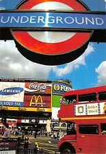 BR91756 london piccadilly samsung mc donalds coca cola double decker bus   uk
