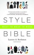 Style Bible: What to Wear to Work-ExLibrary