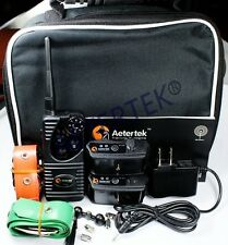 Aetertek 600 Yard  Rechargeable Electric Shock Training Collar Remote for 2 Dogs