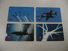 Royal Air Force Red Arrows £ phonecards - Air Display Jersey * x 4 set *