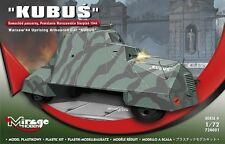 KUBUS - WARSAW UPRISING'44 ARMOURED CAR/APC (POLISH MKGS) 1/72 MIRAGE BRAND NEW