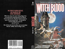 WILL SHETTERLY WITCH BLOOD autographed book cover