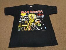 VTG IRON MAIDEN KILLERS T-SHIRT SZ L MEN ROCK METAL TOUR 1997 90S