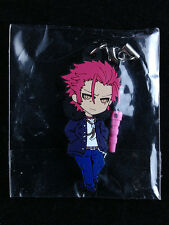 K Project Anime Pikuriku Rubber Strap Key Chain HOBBY STOCK Mikoto Suoh New
