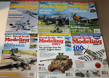 6x FineScale Modeler Great Scale Modeling Magazine Airplane Dioramas Cars Tanks
