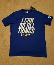 """NWT Under Armour Stephen Curry SC30  """"I CAN DO ALL THINGS"""" t-shirt sz Large; UA"""