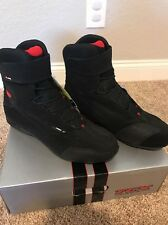 TCX Men's X-Cube EVO WP Motorcycle Boots Black Size 12US/46 Euro *NEW IN BOX