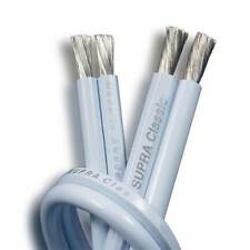 Supra Classic 2.5T Speaker Cable Per Metre, Ice Blue