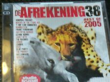 DE AFREKENING 38 (2 CD - Best of 2005) (Studio Brussel) Anouk, dEUS, Soulwax...
