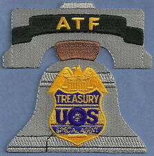 ATF ALCOHOL TOBACCO FIREARMS PHILADELPHIA POLICE PATCH